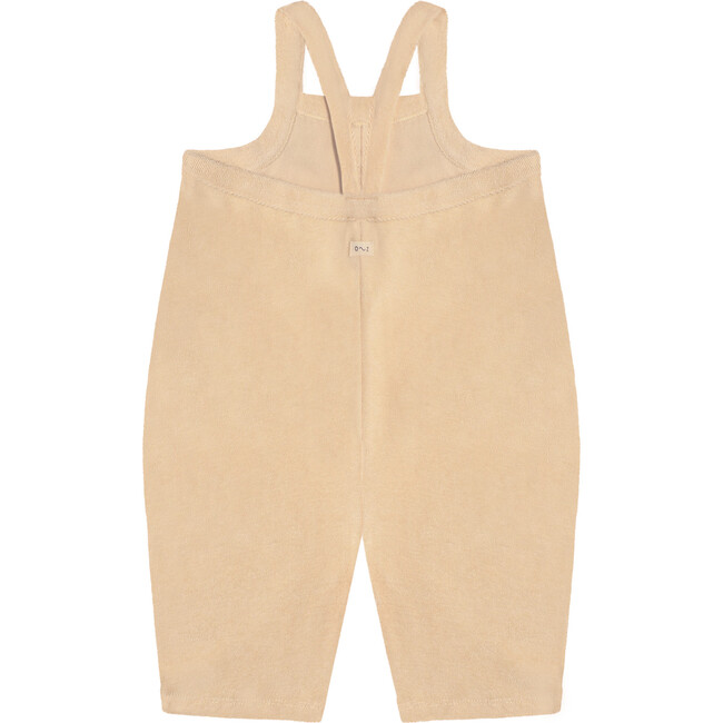 Pebble Terry Cropped Dungarees
