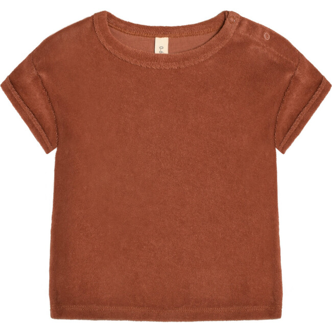 Deep Earth Terry Oversized T-Shirt