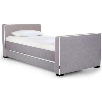 Dorma Day Bed with Trundle, Walnut Frame - Beds - 1