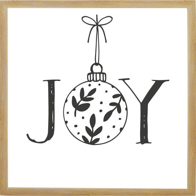 Joy Sign, Farmhouse Brown Frame