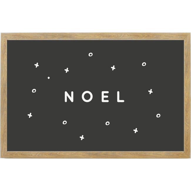 Joyful Noel Sign, Farmhouse Brown Frame