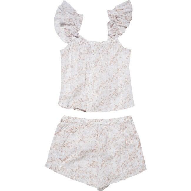 Women's Capella Set, Killarney Beige - Pajamas - 1