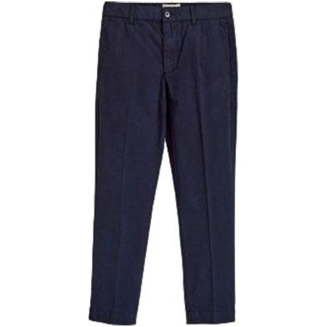 Chino Isac Trousers, Navy