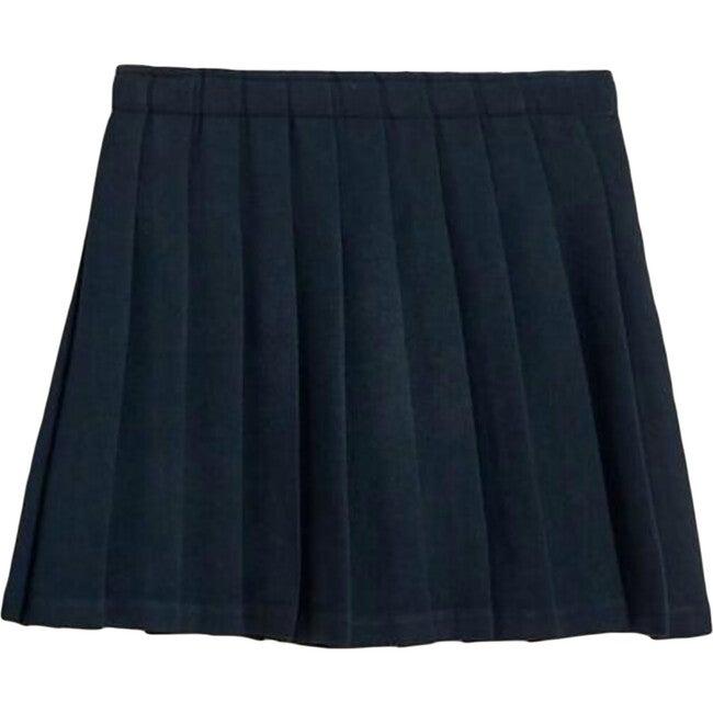 Plissé Asra Skirt, Navy