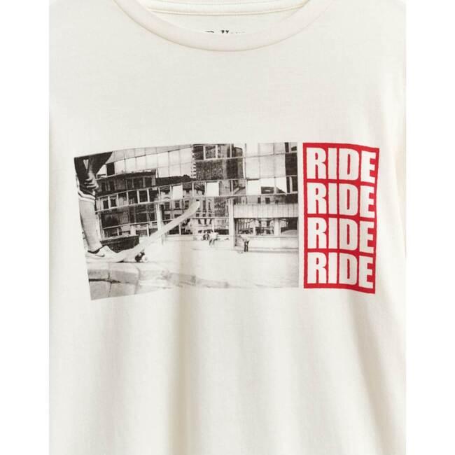 Kenn Ride T-Shirt, Ecru