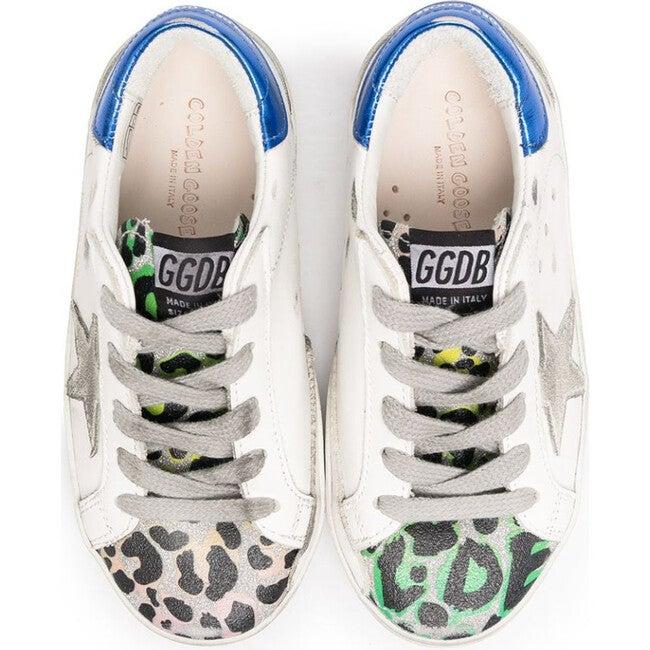 Superstar Suede Leopard Glit Sneaker
