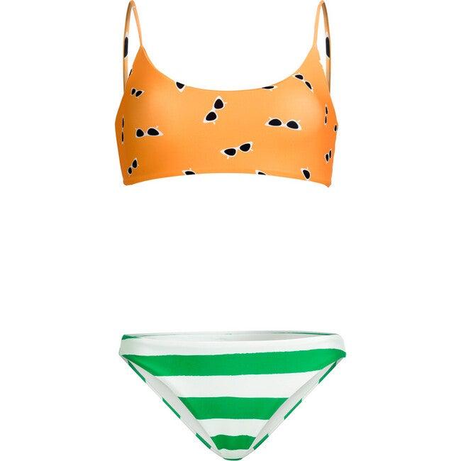Women's Melissa Bikini Top, Yellow Positano