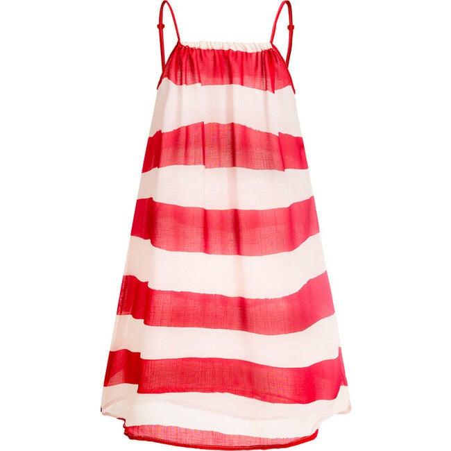 Oli Cover Up Dress, Red Capri - Cover-Ups - 1