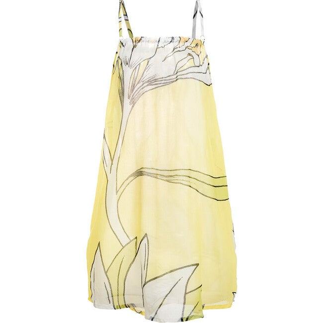 Oli Cover Up Dress, Le Fleurs Citron Lime