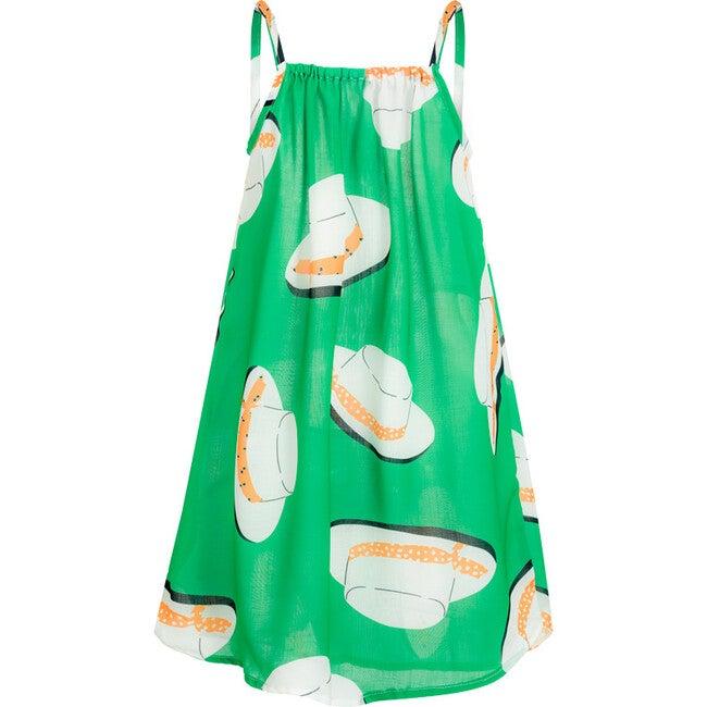 Oli Cover Up Dress, Green Sicilia