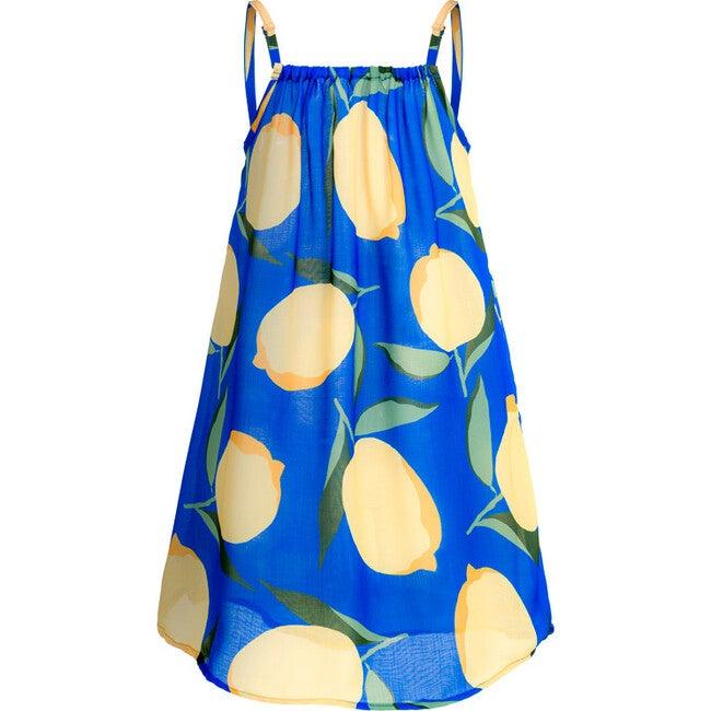 Oli Cover Up Dress, Blue Sorrento - Cover-Ups - 1