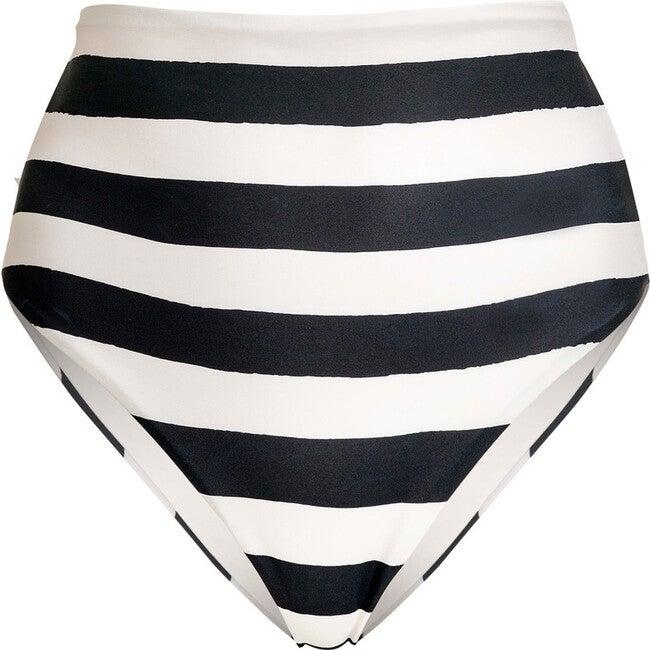 Women's Andrea Rayas Bikini Bottom, Black Portofino