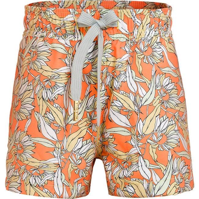 Swim Trunks, Le Fleurs Mint & Orange