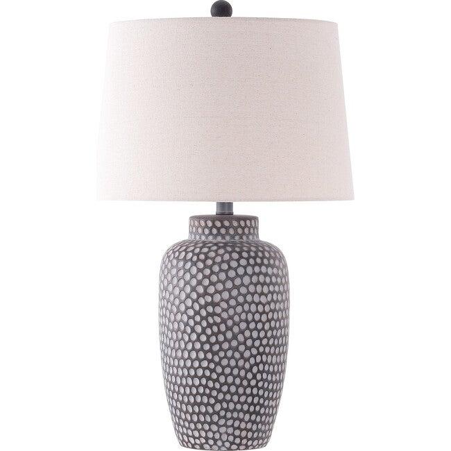 Jerlen Table Lamp, Charcoal - Lighting - 1