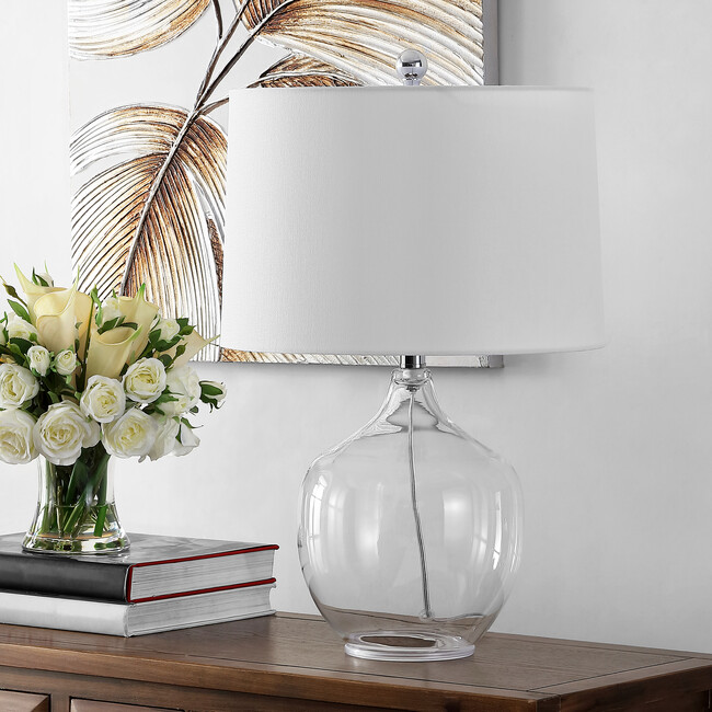 Orlen Table Lamp, Clear