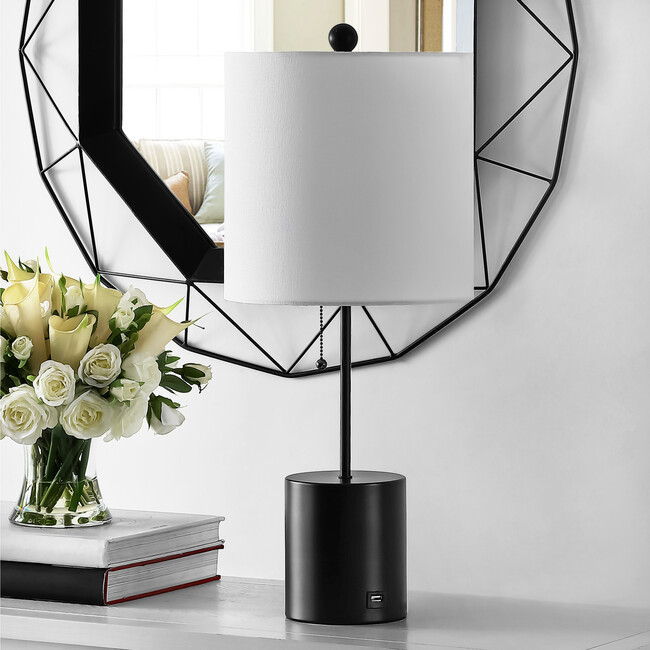 Dalra Table Lamp, Black