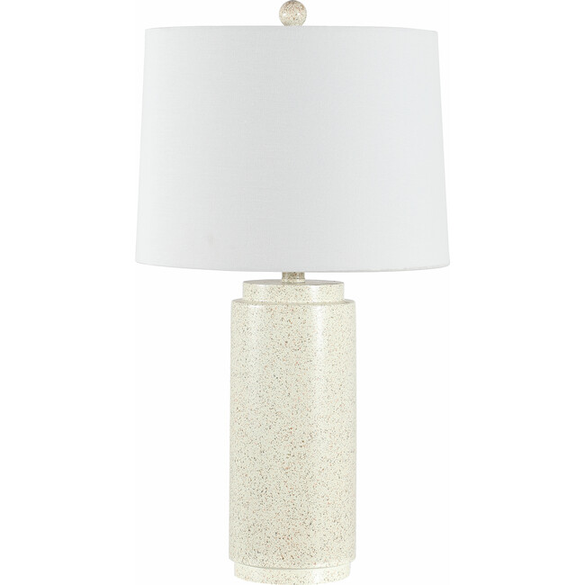 Silla Table Lamp, Cream Speckled