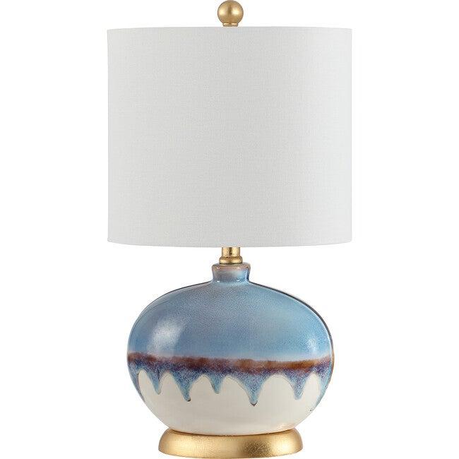 Koa Ceramic Table Lamp, Blue