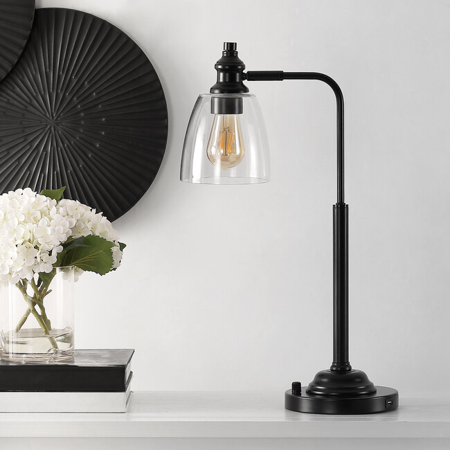 Rino Iron Table Lamp, Iron
