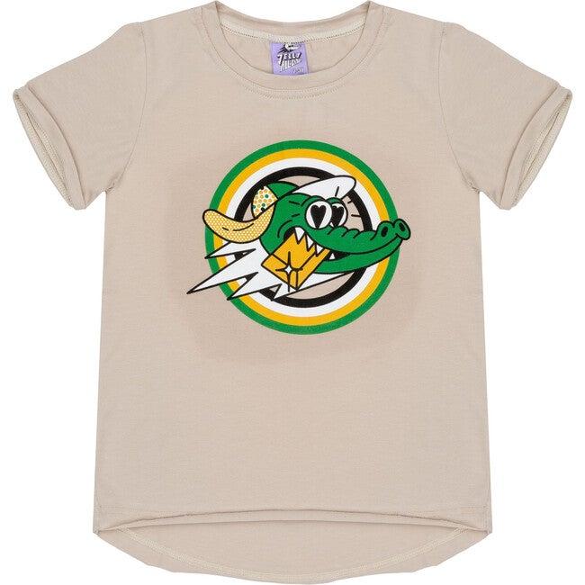 Short Sleeve T-Shirt Golden Gator Beige