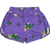 Retro Shorts Golden Gator Purple - Shorts - 1 - thumbnail