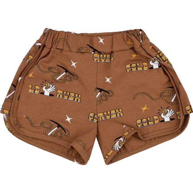 Retro Shorts Gold Rush