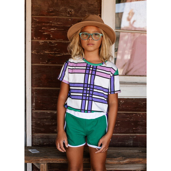 Short Sleeve T-Shirt California Check