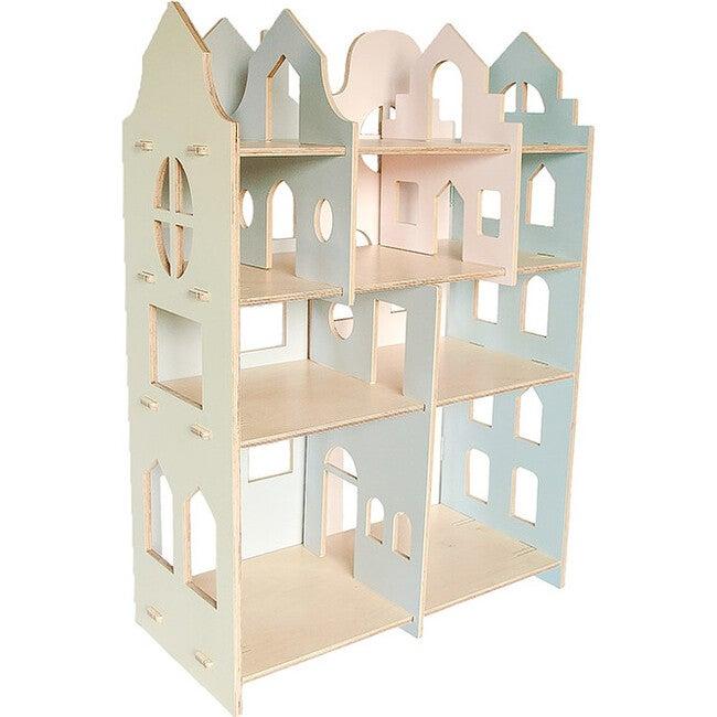 My Mini Dollhouse, Vanilla/Grey/Pink/Blue