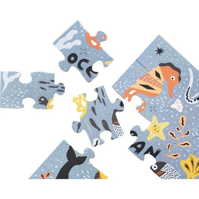 Floor Puzzle - Ocean Life