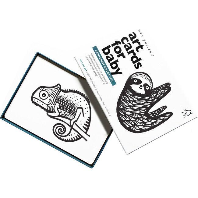 Rainforest - Art Cards for Baby