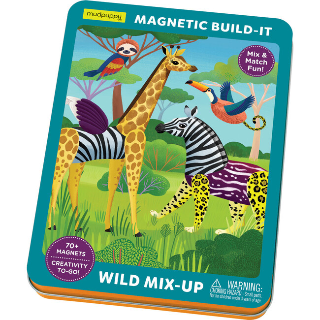 Wild Mix-Up Magnetic Build-It