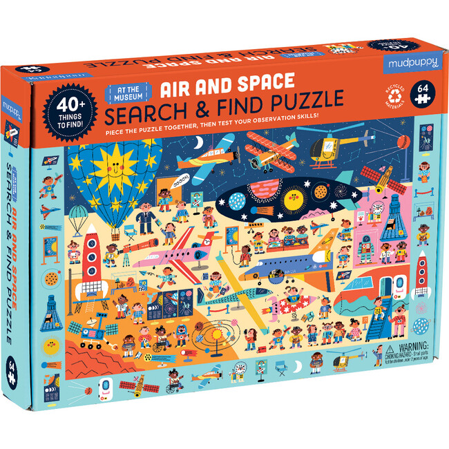 Air and Space Museum Search & Find Puzzle