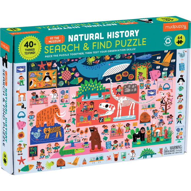 Natural History Museum Search & Find Puzzle