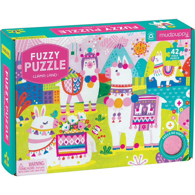 Llama Land Fuzzy Puzzle