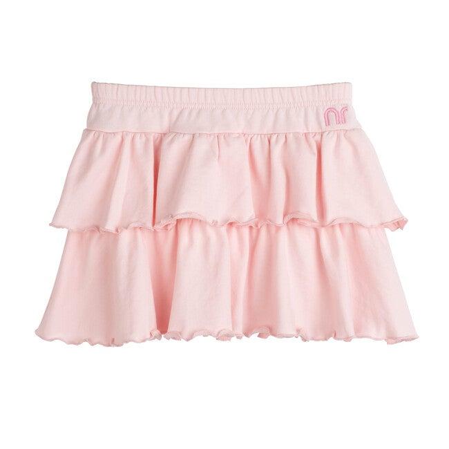 Courtney Ruffle Skirt, Pink Salt
