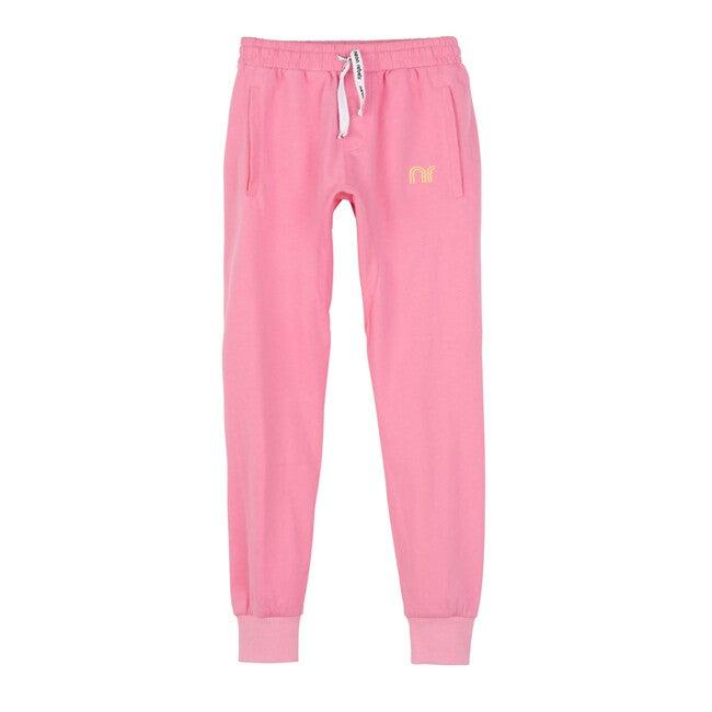 Arlo Jersey Joggers, Neon Pink