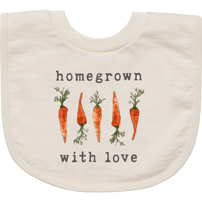 Homegrown With Love™️ - Carrot Edition Bib