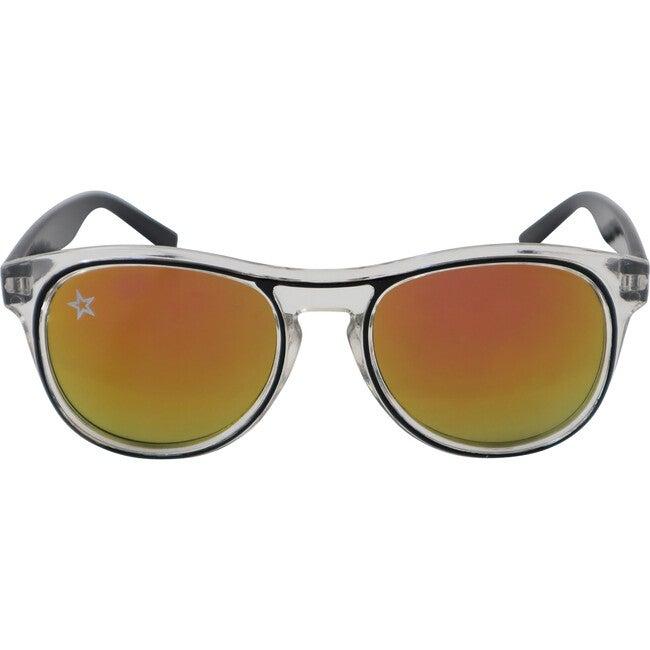 The Retro, Black - Sunglasses - 1