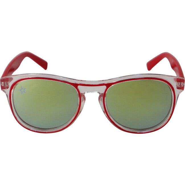 The Retro, Red - Sunglasses - 1