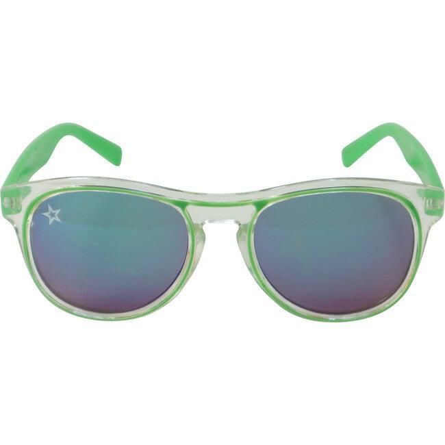 The Retro, Green - Sunglasses - 1