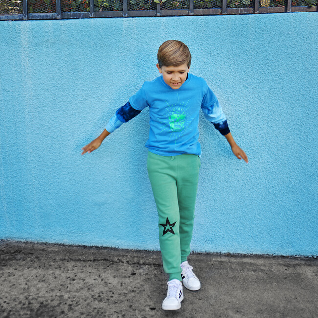 Star Joggers, Electric Green
