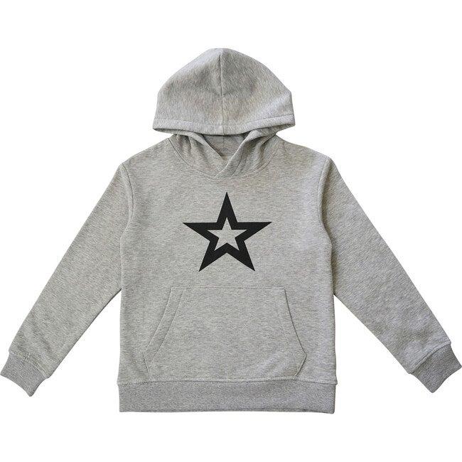Star Hoodie, Cloud Gray
