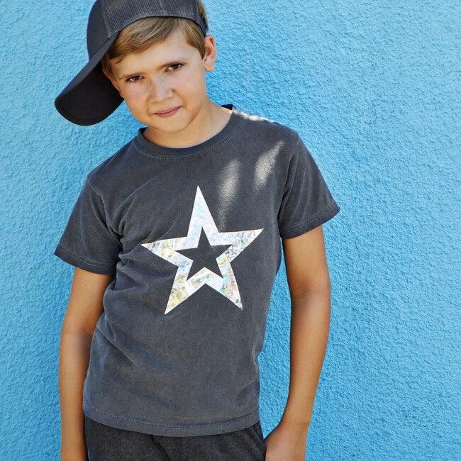 Star T-Shirt, Vintage Black