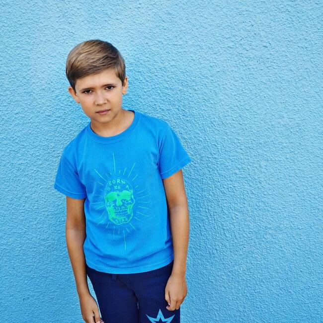 Rockstar T-shirt, Ocean Blue