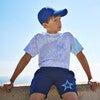 Star Play Shorts, Navy - Shorts - 4