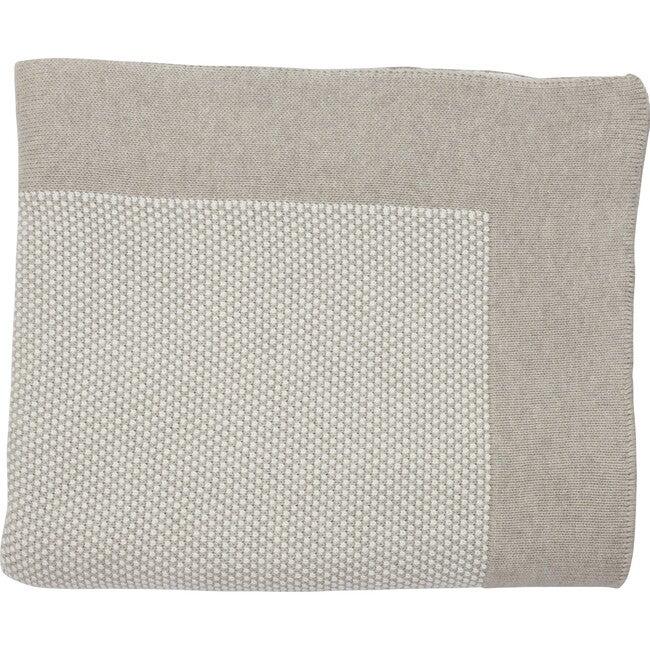Eka Stipple Throw Blanket, Beige