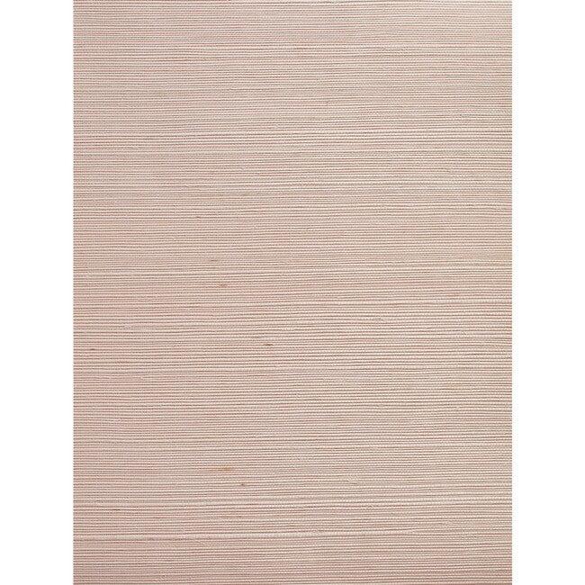 Solid Grasscloth Wallpaper, Ballet Slipper