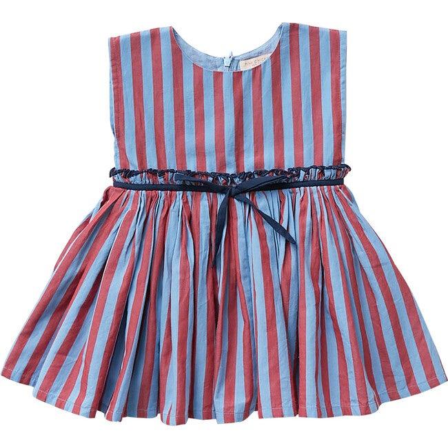Niley Dress, Dusk Blue