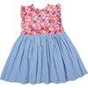 Elliot Dress, Honeysuckle Multi Floral - Dresses - 2