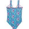 Claire Suit, Hawaiian Ocean Vine Floral - One Pieces - 2